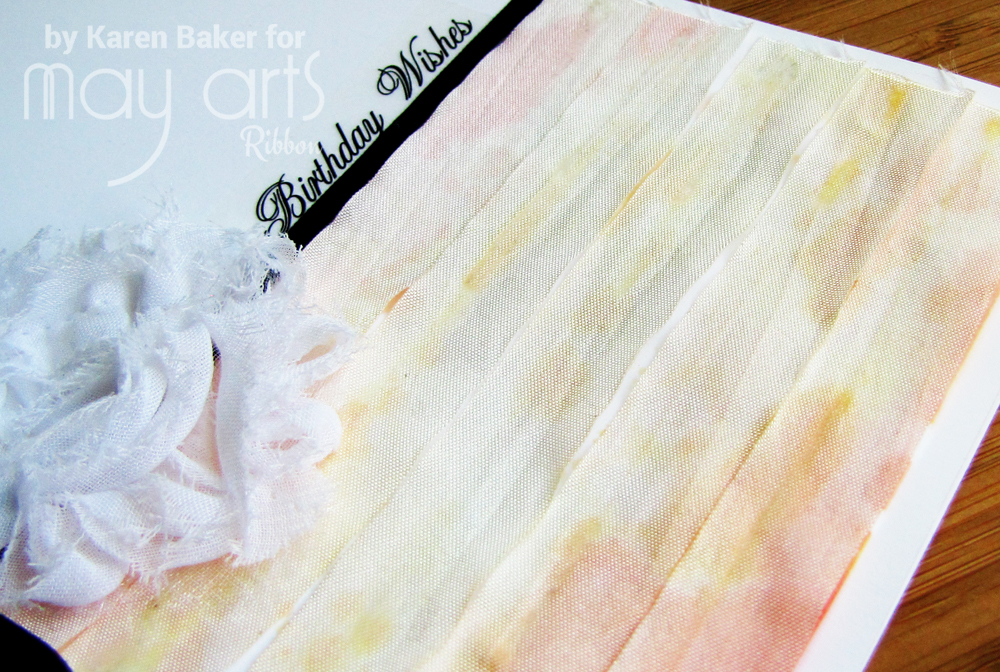 How To: Adding Texture & Color To Cards: Wholesale Ribbon