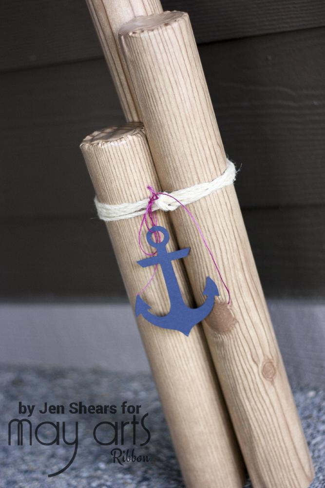 DIY Outdoor Decor: Dock Pilings - Wholesale Ribbon - May