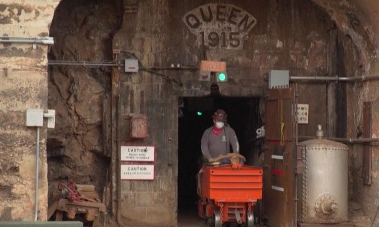 Bisbee, pueblo minero en Arizona, Estados Unidos.