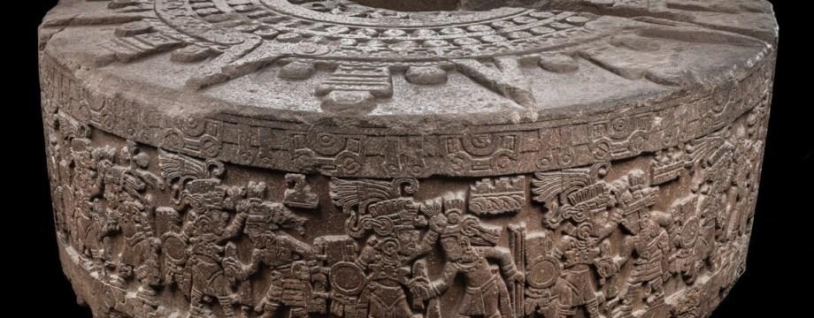 Piedra de Tízoc, cultura azteca