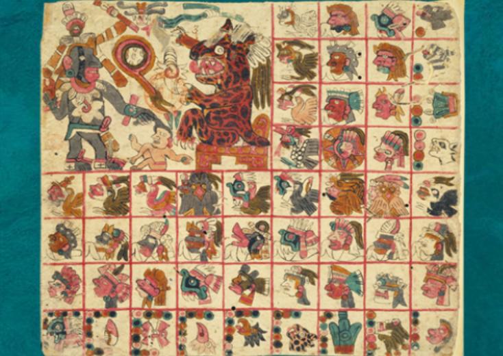 códice Tonalámatl de Aubin