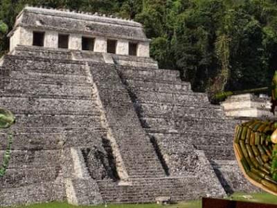 Reina roja y Pakal, gobernantes de Palenque