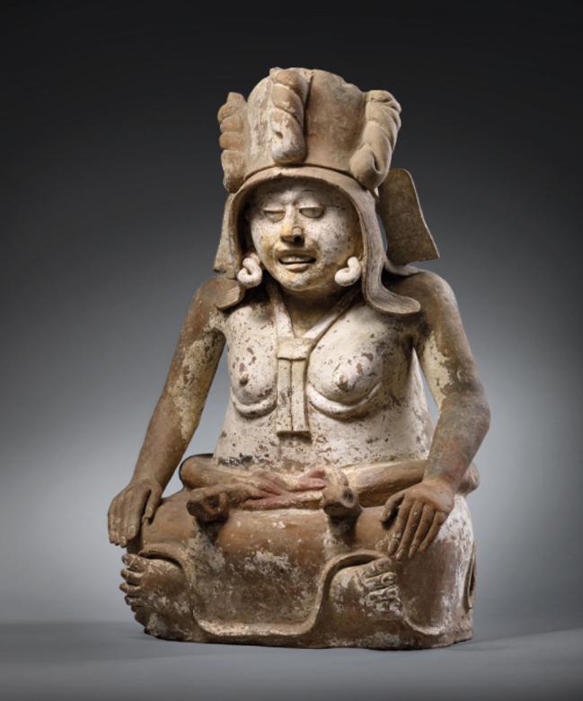 Cihuateotl, diosa de las mujeres muertas al dar a luz