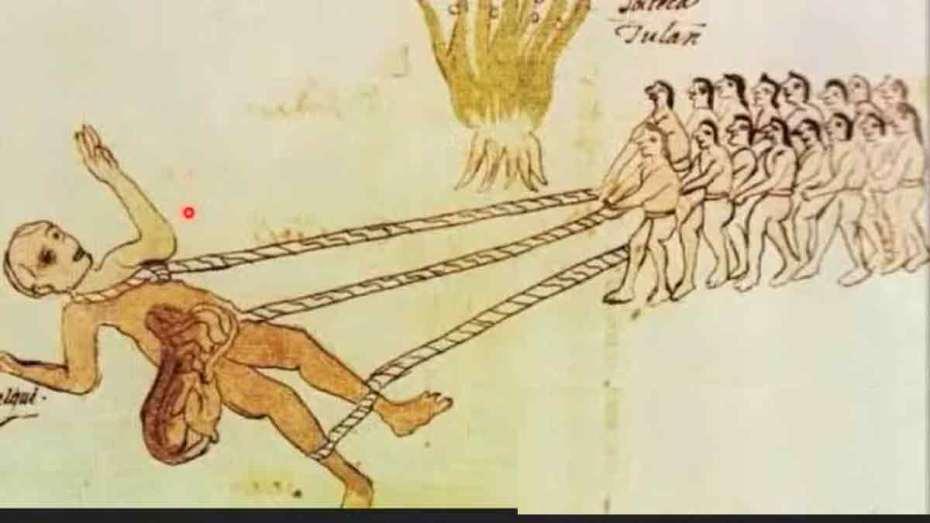 gigante retratado en el códice vatgicano