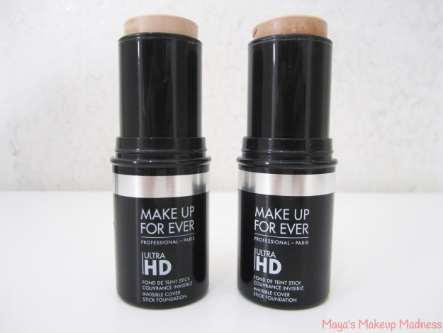 MAKE UP FOR EVER - Ultra HD Invisible Cover Stick Foundation (LtR: 117=Y225, 118=Y325)