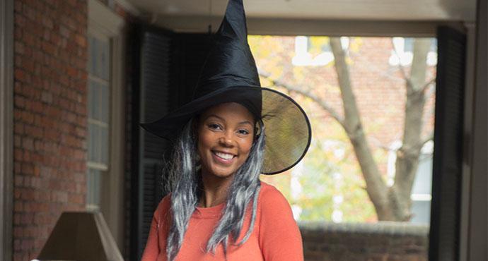 Maya Smart Halloween Photo