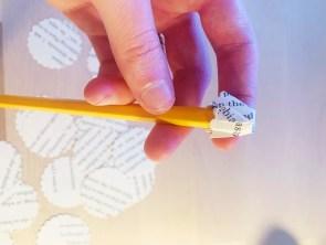 DIY Book Craft Paper Hydrangeas