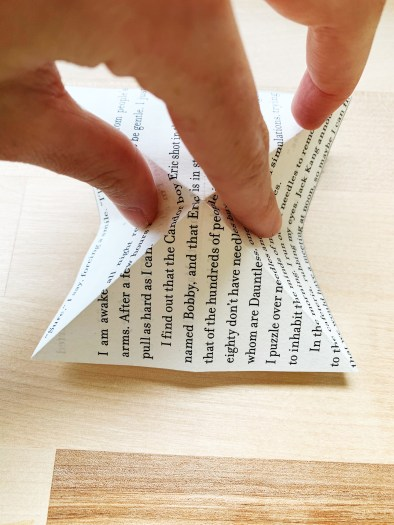 Book-Page Butterfly