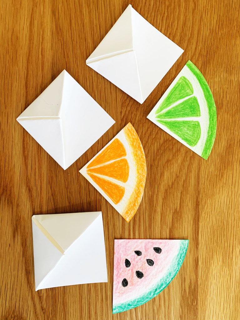 Fruit Slice Corner Bookmarks