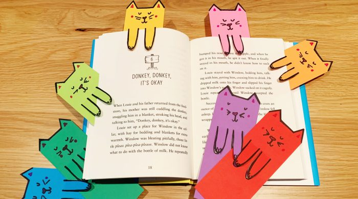 Cute Cat Bookmarks