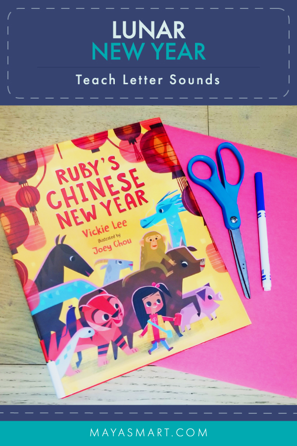 Lunar New Year Letter Activity Pin