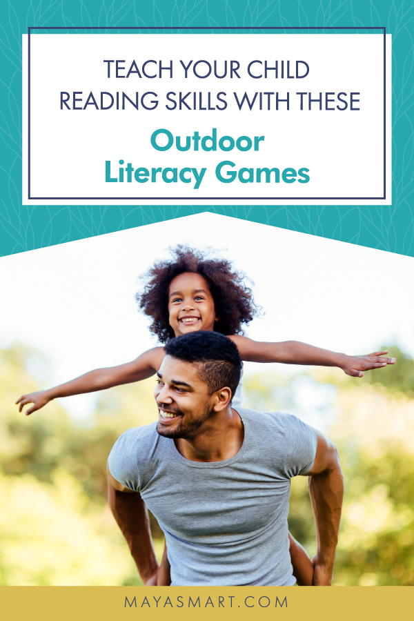 Outdoor Literacy Games pin 2