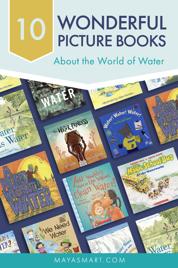 10 Picture Books About the World of Water pin