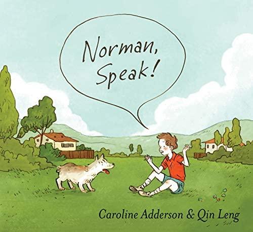 Norman, Speak! by Caroline Adderson book cover