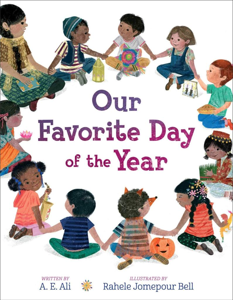 Our Favorite Day of the Year by A.E. Ali book cover