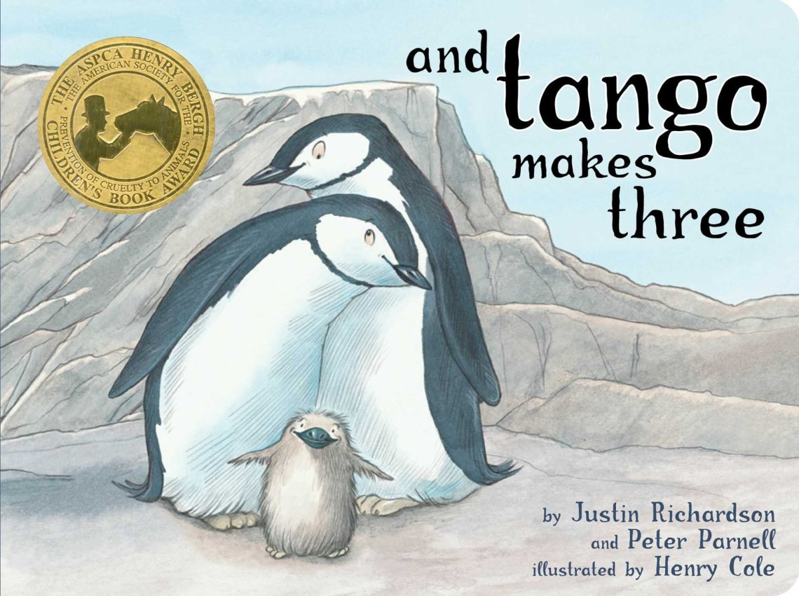 And Tango Makes Three by Justin Richardson and Peter Parnell book cover