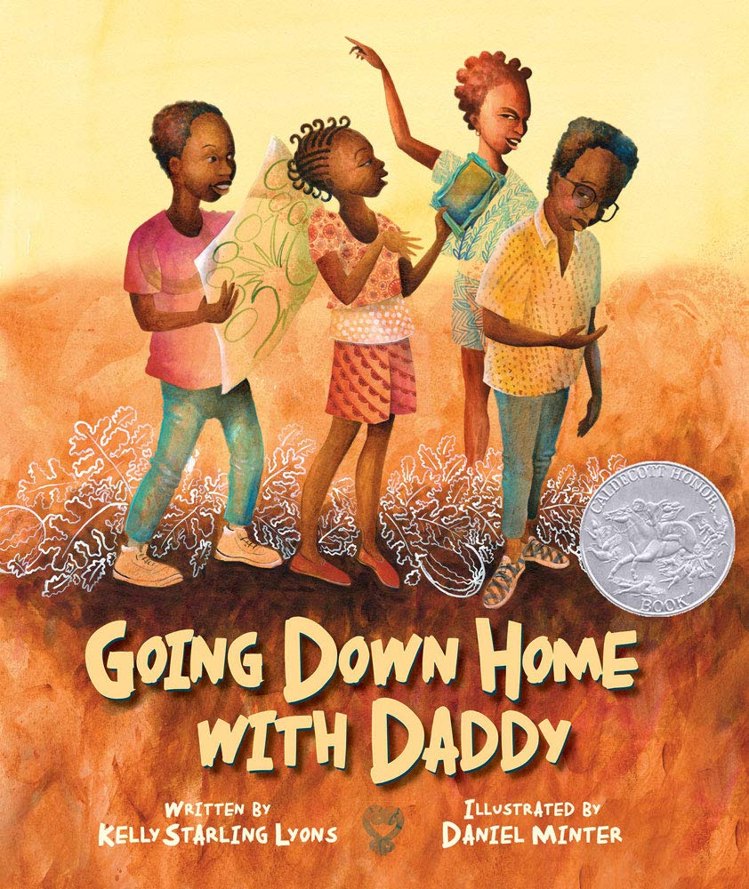 Going Down Home with Daddy by Kelly Starling Lyons book cover