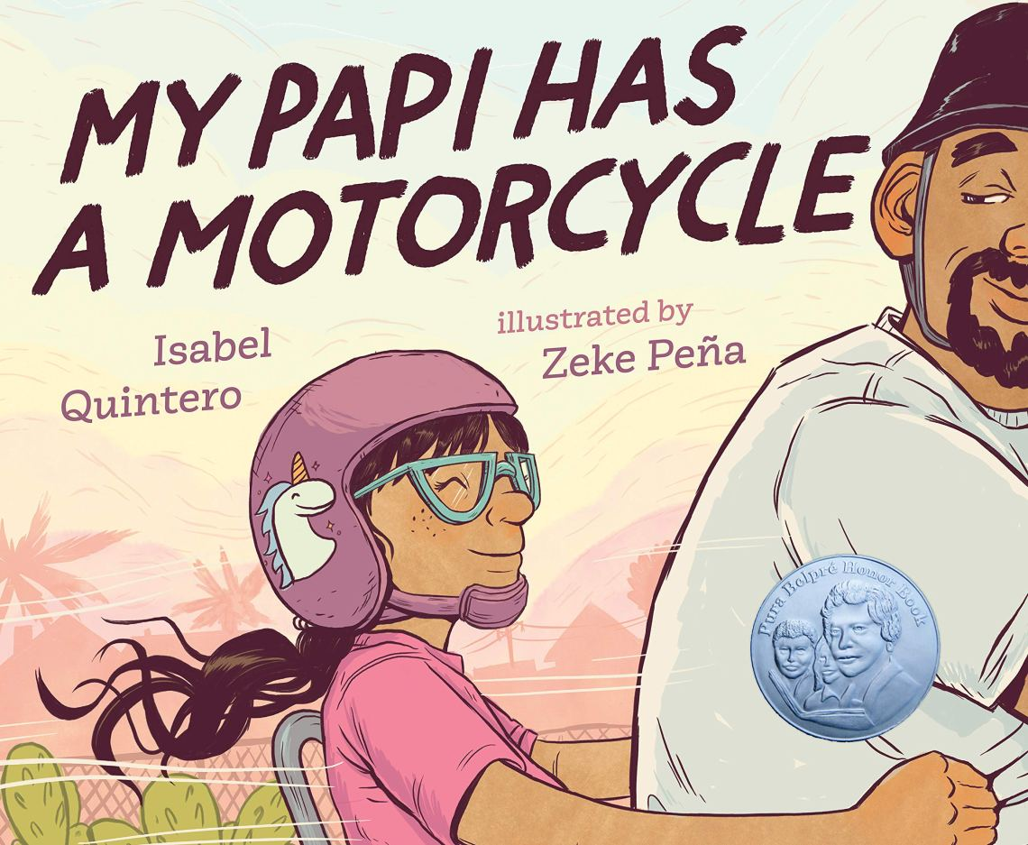 My Papi Has a Motorcycle by Isabel Quintero book cover