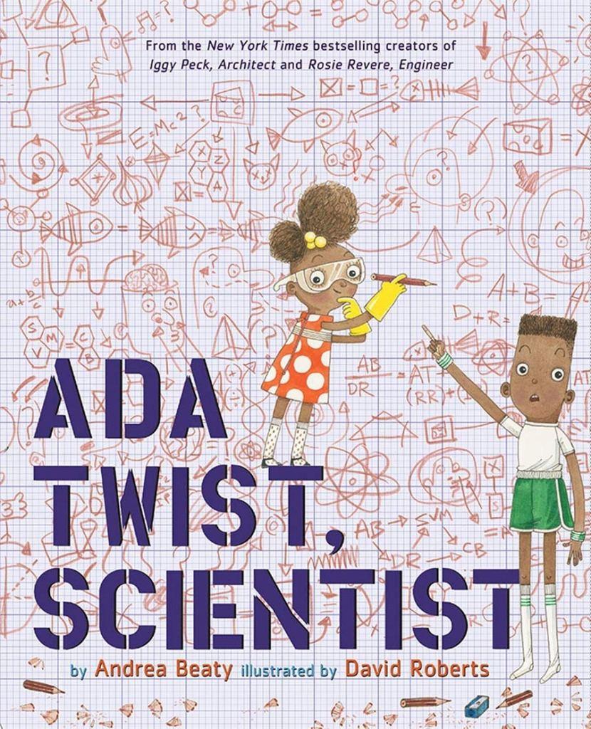 Ada Twist, Scientist by Andrea Beaty book cover
