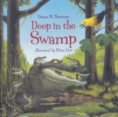 Deep in the Swamp by Donna M. Bateman book cover