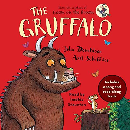 The Gruffalo by Julia Donaldson book cover