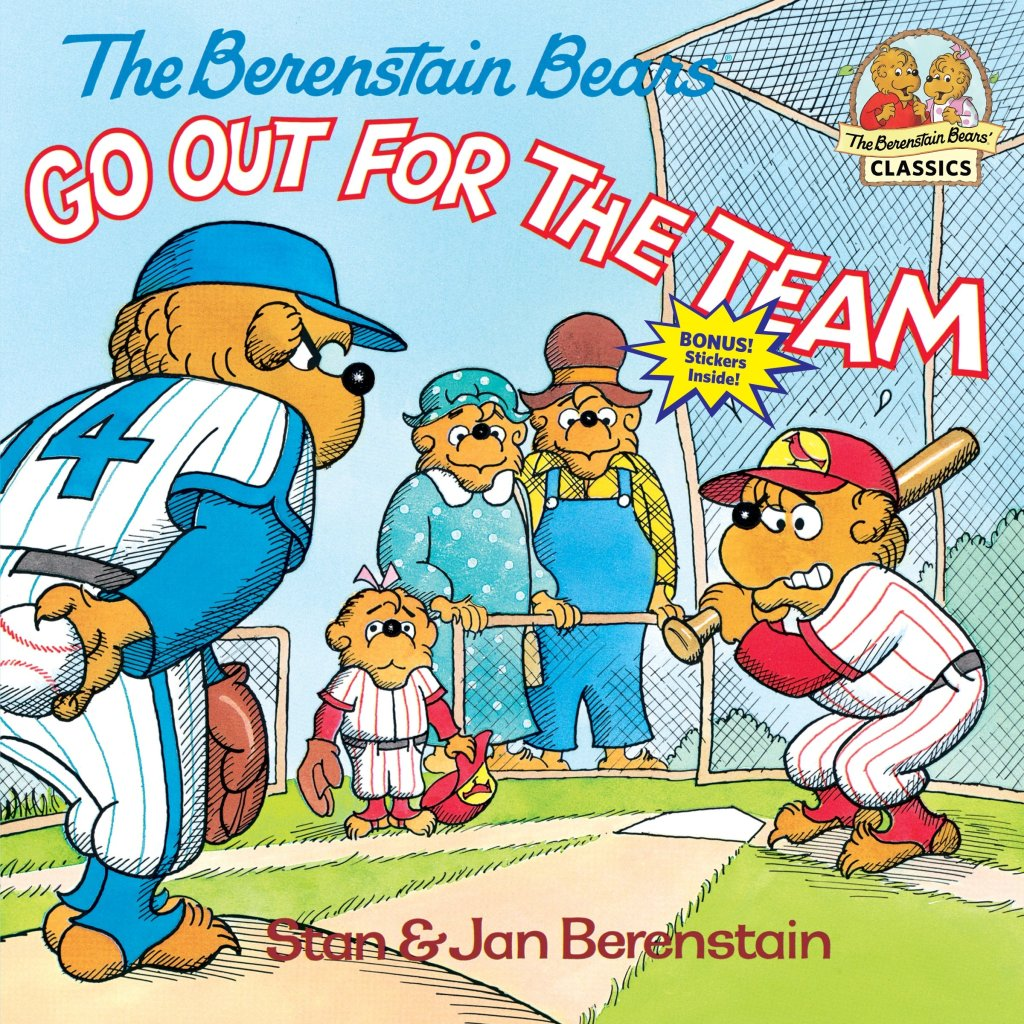 The Berenstain Bears Go Out for the Team by Stan and Jan Barenstain book cover