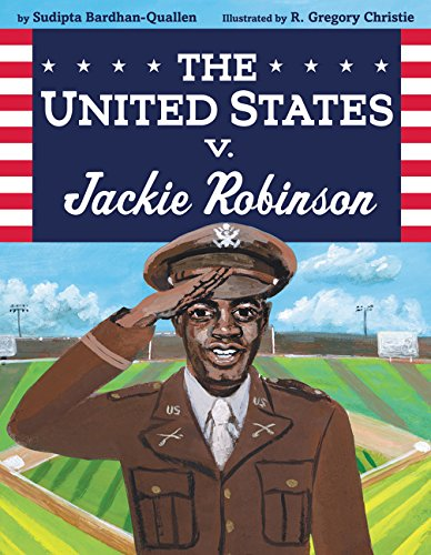 The United States v Jackie Robinson by Sudipta Bardhan-Quallen book cover
