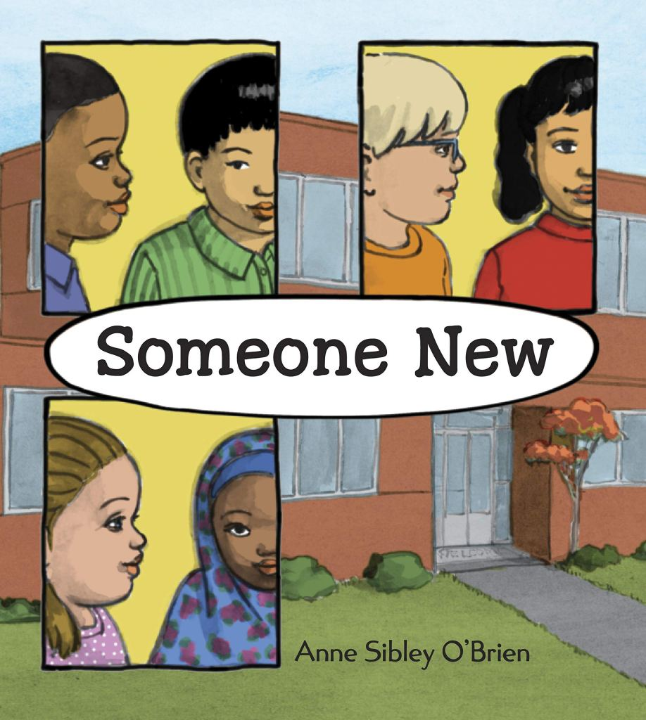 Someone New by Anne Sibley O'Brien book cover