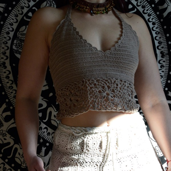 crochet top for sunday
