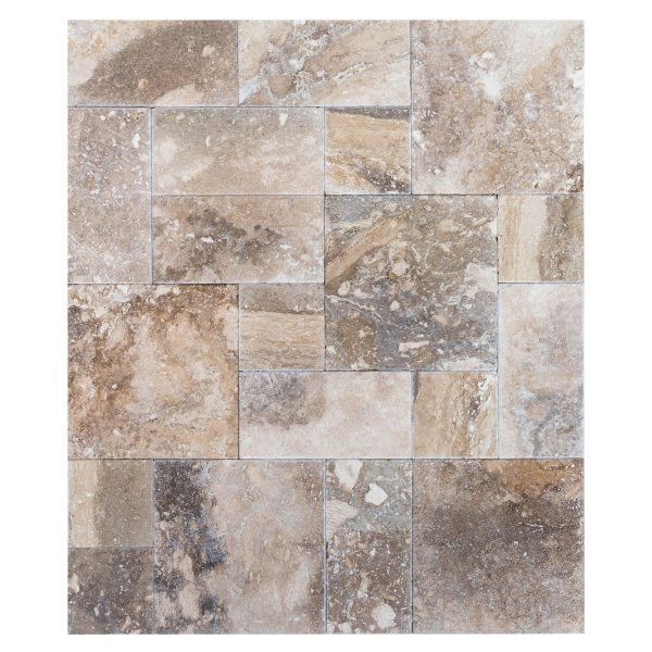 conglomerate-antique-pattern-travertine-tiles-multi-top-view-dry-www.mayausatile.com
