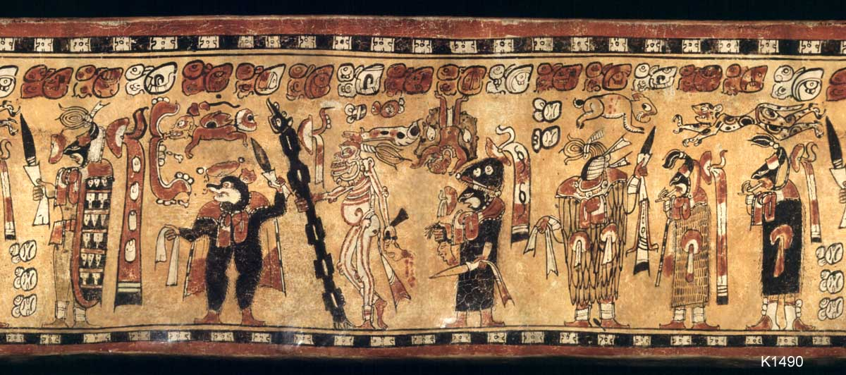 Mushroom Rituals And Decapitation Depicted In Maya Vase Paintings