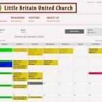 LBUC (Website: Event Calendar)
