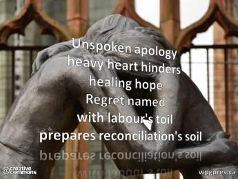 Reconciliation's Soil