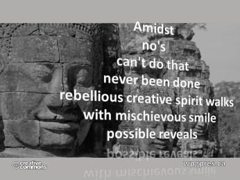 Mischievous Smile
