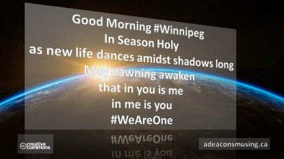 #WeAreOne