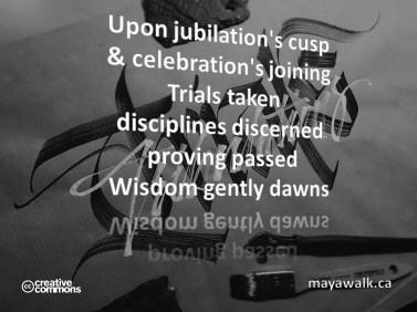 Wisdom Gently Dawns