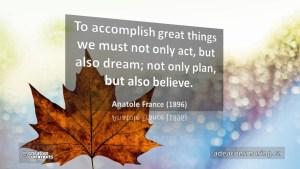 Quote: Anatole France