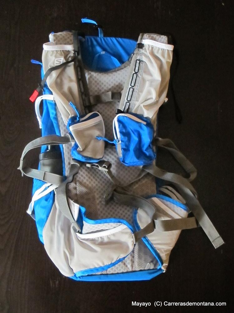 Mochila Salomon Peak 30L (610gr/110€) Análisis técnico Mayayo y prueba a fondo por Kaikuland.