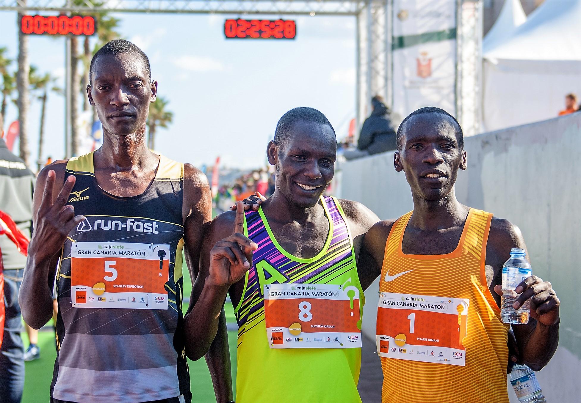 Gran Canaria Maratón 2017: Crónica, resultados y fotos. Ganan Mathew Kipsaat y Aroa Merino. Nuevo record 2h13m19s