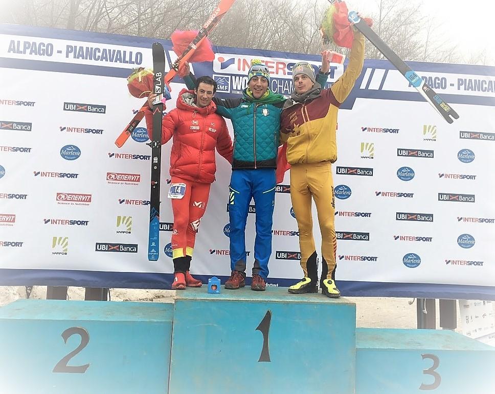 Esquí de Montaña 2017: Damiano Lenzi y Laetitia Roux campeones del Mundo Individual. Kilian Jornet plata.