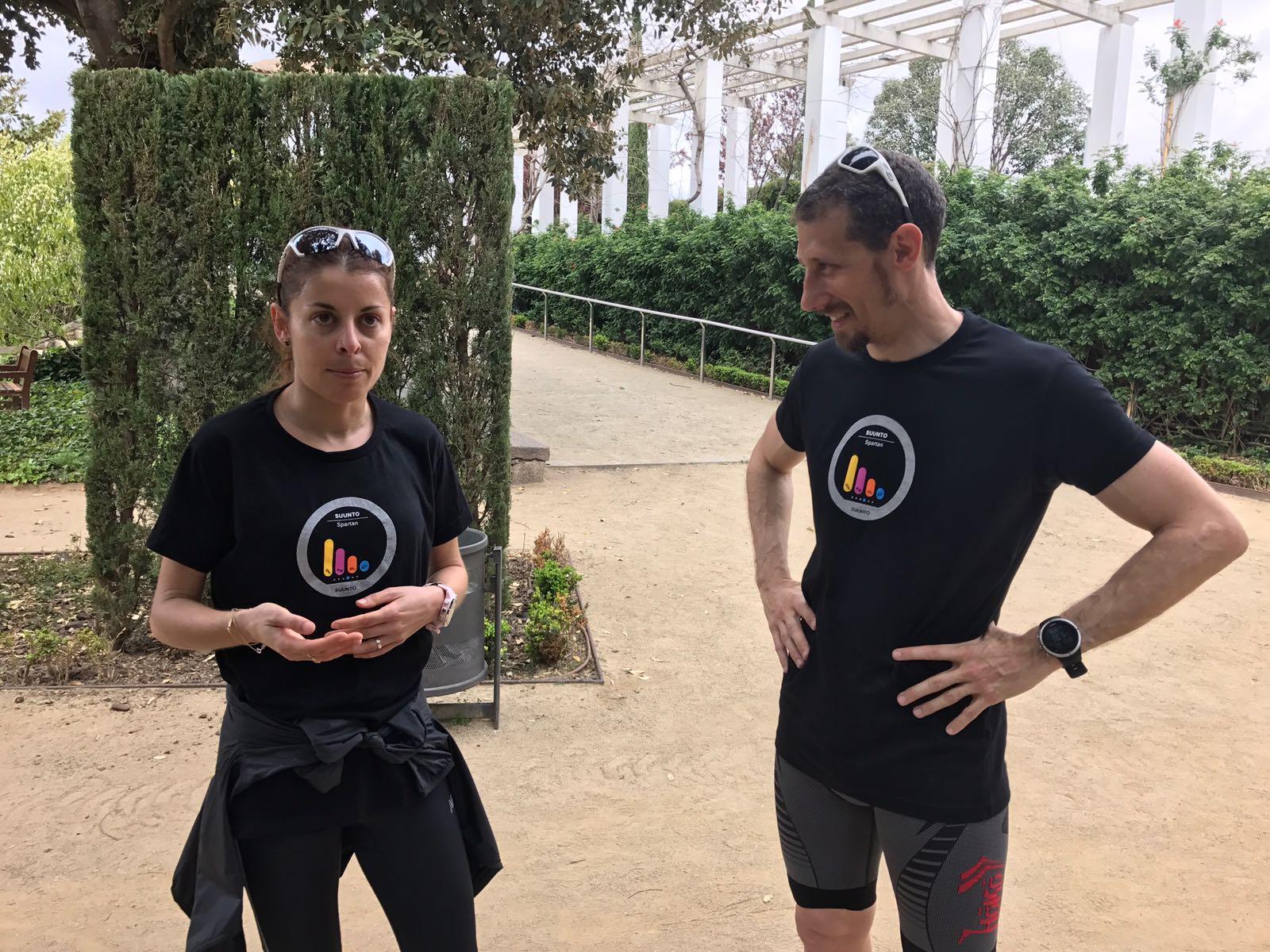 Entrenamiento running y reloj gps: Rodando con Paula González y el Suunto Spartan