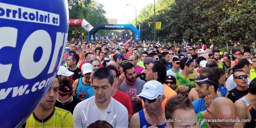 MARATON MADRID 2017: 36.000 DORSALES EN CARRERA. FOTOS, RESULTADOS Y CRÓNICA JULIO SANTOS, LIEBRE DE POPULARES.