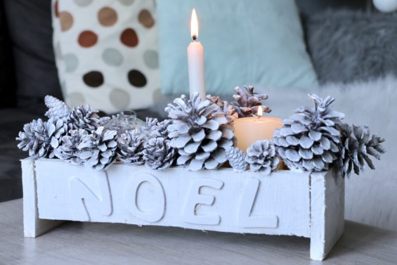 DIY: Bougeoirs d'hiver