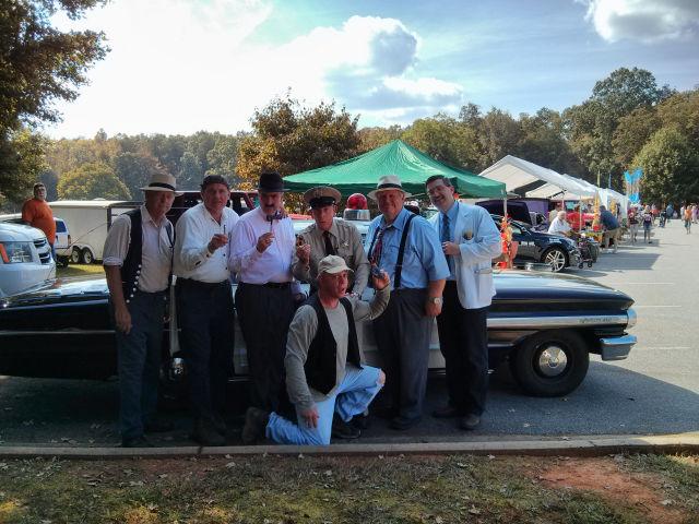 Mr. Wheeler, Goober, Howard, Barn, Otis, Floyd and Ernest T.