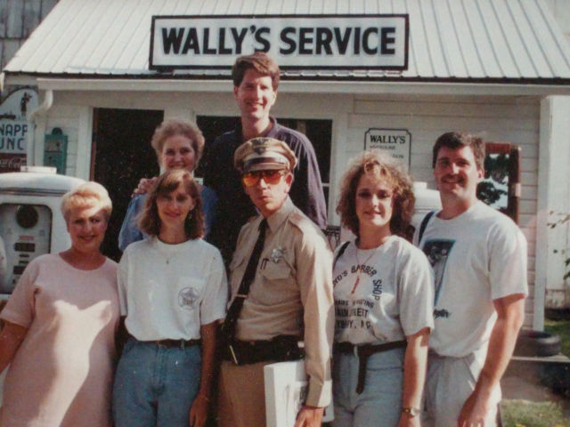 Mayberry fans at the Mayberry Squad Rendezvous in 1993.
