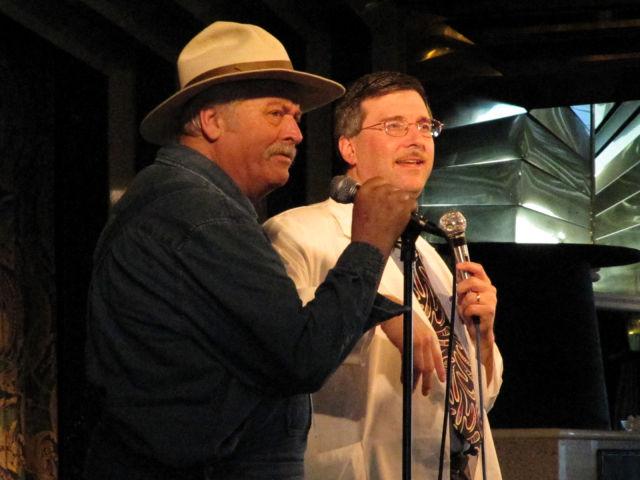 Bob 'Briscoe' Darling and Floyd.