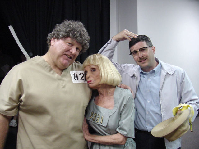 "Jean ""Fun Girl"" Carson as escaped convict Naomi Connors along with ""Big Maude"" and ""Floyd."""