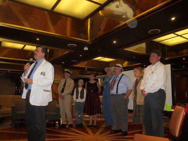 Floyd and the Mayberry tributes on the Cruise to Mayberry.