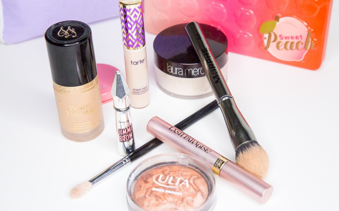 Top 10 Items in my Makeup Bag that are perfect for travel