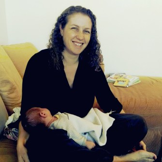 Diana and baby Emily.